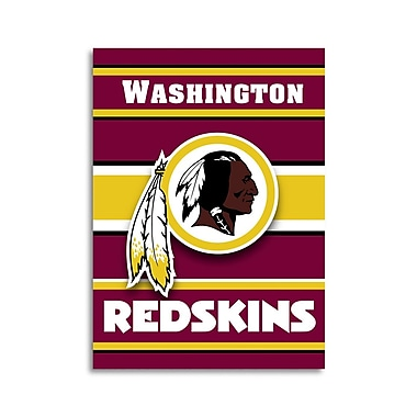 NeoPlex NFL Double Sided House Banner; Washington Redskins