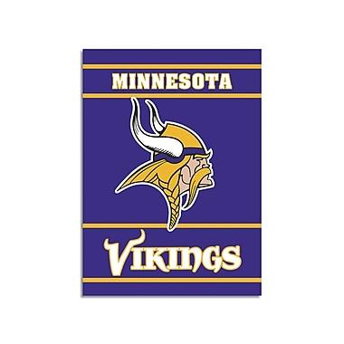 NeoPlex NFL Double Sided Garden Banner; Minnesota Vikings