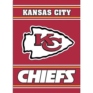 NeoPlex NFL Double Sided Garden Banner; Kansas City Chiefs