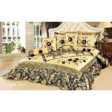 Tache Home Fashion Autumn Falls 6 Piece Comforter Set; Full/Double