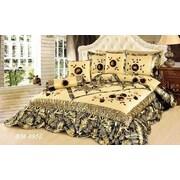 Tache Home Fashion Autumn Falls 6 Piece Comforter Set; Full/Double