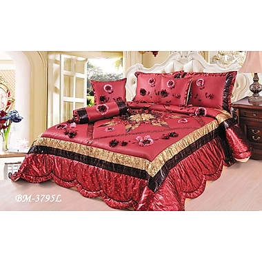 Tache Home Fashion Winter Holiday 4 Piece Comforter Set; King