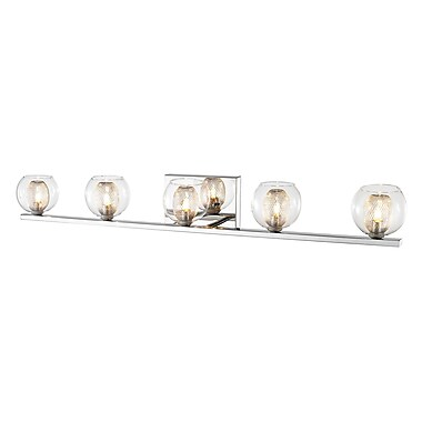 Brayden Studio Sedlacek 5-Light Bath Bar; LED