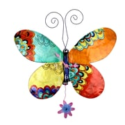 River City Clocks Butterfly Wall Clock