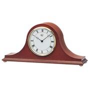 River City Clocks Tambour Mantel Clock; Mohagany