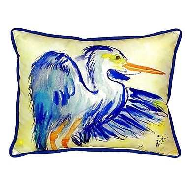 Betsy Drake Interiors Heron Indoor/Outdoor Lumbar Pillow