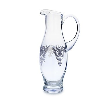 ClassicTouch Vivid Plus Pitcher; Silver