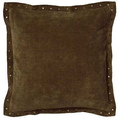 Wildon Home Dahlina Pillow Cover; Green