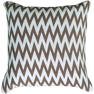 Wildon Home Dahlye Pillow Cover; Gray
