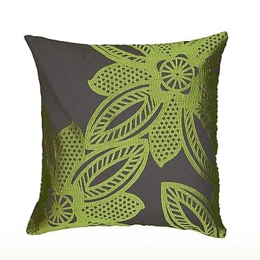 Wildon Home Dakshina Pillow Cover; Lime
