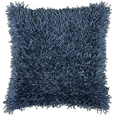 Brayden Studio Maeda Throw Pillow; French Blue