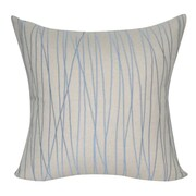 Loom and Mill Stripe Decorative Throw Pillow; Linen