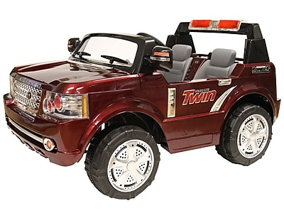 Daymak Magic Rover Battery Powered ATV; Burgundy