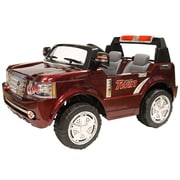 Daymak Magic Rover Battery Powered ATV; Burgundy