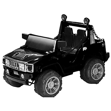 Daymak H2 2 Seater Battery Powered ATV; Black