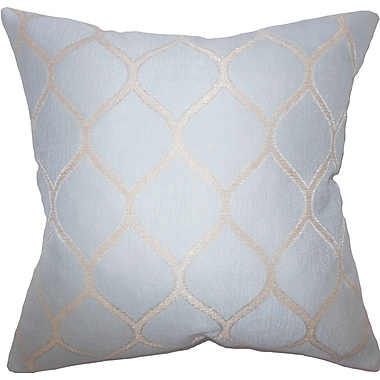 The Pillow Collection Trudy Geometric Cotton Throw Pillow; 20'' X 20''