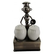 Three Star Salt and Pepper Holder by Wine Bodies