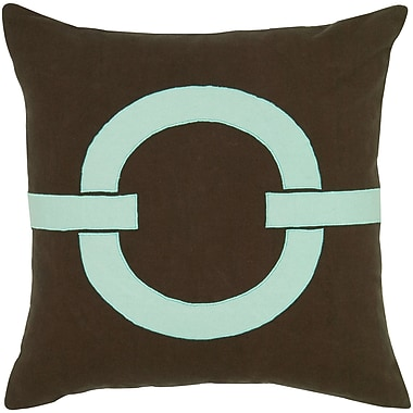 Wildon Home Charitie Cotton Pillow Cover; Blue