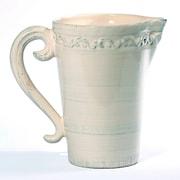 Intrada Baroque Pitcher; Cream
