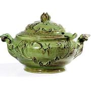 Intrada Baroque Soup Tureen; Green
