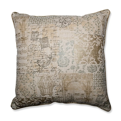 Pillow Perfect Documented Vermeil Throw Pillow; 25''