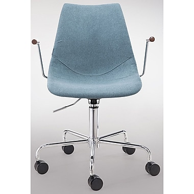Gingko Home Furnishings Pacifica Desk Chair; Blue
