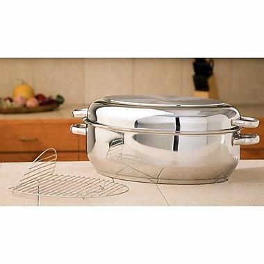 Chef's Secret Precise Heat 17.75'' Multi Baker and Roaster w/ Rack
