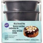 Wilton 4 Piece Mini Round Pan Set
