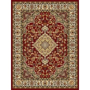 World Rug Gallery Newport Red Area Rug; Runner 2' x 7'2''