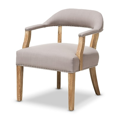 Wholesale Interiors Baxton Studio Renato Upholstered Arm Chair