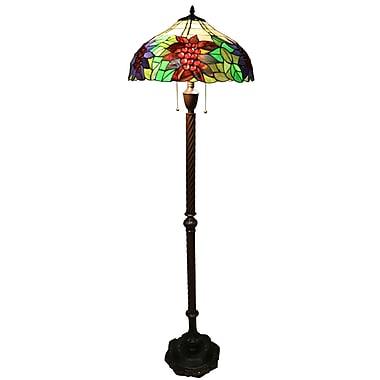 Warehouse of Tiffany Tiffany Pypher 62'' Floor Lamp