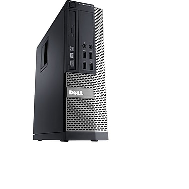 Dell - PC de table OptiPlex 7010 SFF remis à neuf, 3,4 GHz Intel Core i7, 16 Go DDR3, SSD 240 Go, Windows 10 Pro