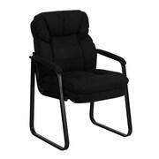 Offex Executive Reception Chair; Black