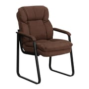 Offex Executive Reception Chair; Brown