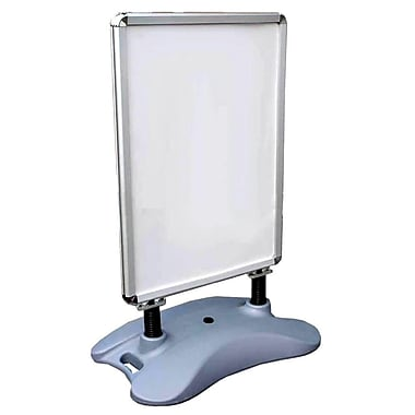 Eddie's Hang-Up Display Ltd. - Porte-affiche extérieur à double face (130414)