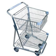 Eddie's Hang-Up Display Ltd. Double-Decker Shopping Cart (199432), 2/Pack