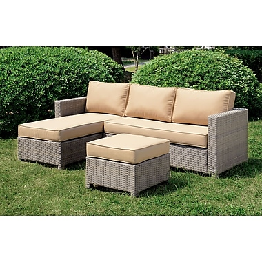 A&J Homes Studio Chelsey Deep Seating Sofa w/ Cushions