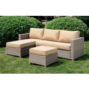 A&J Homes Studio Chelsey Deep Seating Sofa w/ Cushions