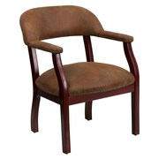Offex Low-Back Desk Chair; Brown