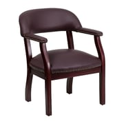 Offex Low-Back Desk Chair; Burgundy
