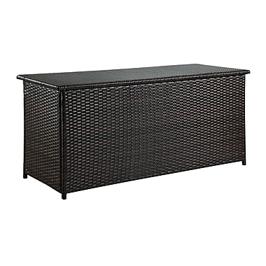 DHI Wicker Deck Box; Brown