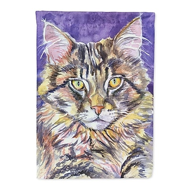 Caroline's Treasures Maine Coon Sassy 2-Sided Garden Flag