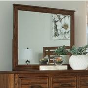 Loon Peak Rectangle Wood Mirror