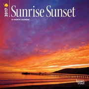 2017 Sunrise Sunset 7x7 Calendar (9781465092052)