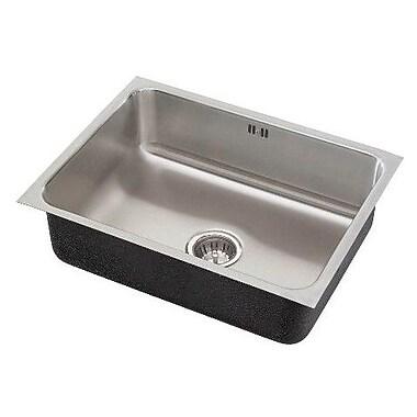 Just Manufacturing 30'' x 18'' x 10.5'' Single Bowl Undermount Kitchen Sink