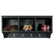 SawdustCity Locker Shelf; Black