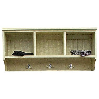 SawdustCity Locker Shelf; Old Cream