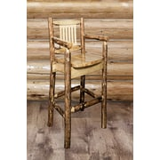 Loon Peak Tustin 30'' Wooden Bar Stool