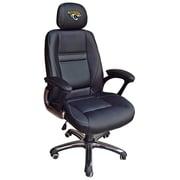 Tailgate Toss NFL Leather Desk Chair; Jacksonville Jaguars