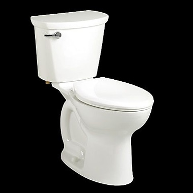 American Standard Cadet 1.6 GPF Round Front Toilet; White